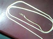 """21"""" Gold Panther Chain 14K Yellow Gold 6.8g"""